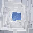 3D-Rendering, mega city, living space - UW000819