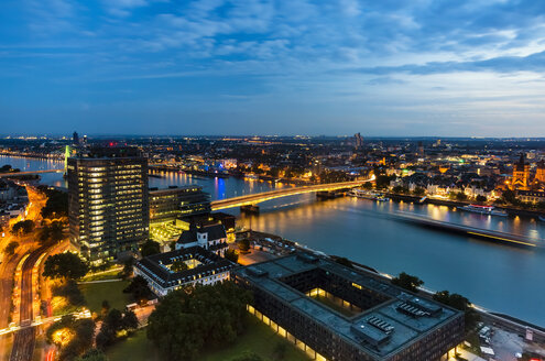 Germany, Cologne, view to cityscape from above - TAMF000420