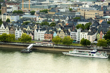Germany, Cologne, view to cityscape from above - TAMF000429