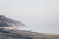 Germany, Dierhagen, beach in the morning - ASCF000559