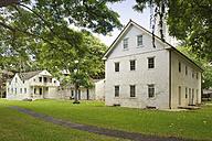 USA, Hawaii, Honolulu, Hawaiian Mission Houses, Oldest Frame House, Print House and Chamberlain House - BRF001272