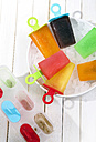 Different colorful ice lollies - RTBF000044