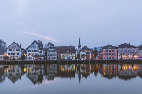 Switzerland, Thurgau, Gottlieben in the evening - KEBF000355