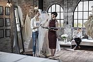 Wedding dress designer and bride to be - ZEF008636