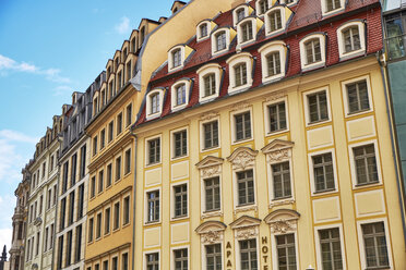 Germany, Dresden, old town, rehabilitated facades - BSCF000520