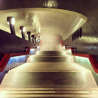 Germany, Berlin, Steglitz, subway station - SEG000545