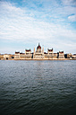 Hungary, Budapest, Hungarian Parliament building at Danube river - GEMF000836