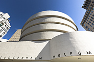USA, New York City, Manhattan, Guggenheim Museum - FC000901