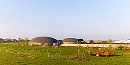 Germany, Fellbach, Biogas plant - WDF003581