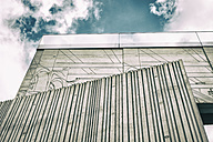 Germany, Berlin, part of facade of Tchoban Foundation, Museum for Architectural Drawing - CM000388