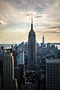 USA, New York City, Manhattan view to Empire State Building - GIOF000896