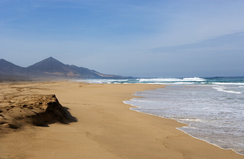 Spain, Canary Islands, Fuerteventura, Cofete, beach - WWF003957