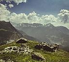 Italy, Chiesa in Valmalenco, ruins, barns - DWIF000716