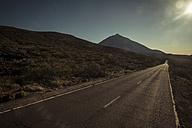 Spain, Tenerife, empty road in El Teide region - SIPF000373