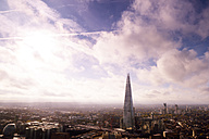 UK, London, cityscape with The Shard - BRF001309