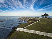 USA, California, Point Arena Lighthouse - STCF000197