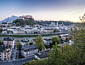 Austria, Salzburg, cityscape - HAMF000185