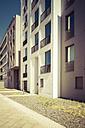 Facades of modern multi-family houses - CMF000406