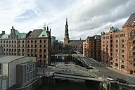 Germany, Hamburg, Speicherstadt - MYF001452