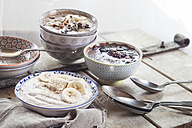 Different smoothie bowls - SBDF002880