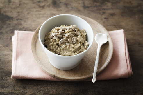 Homemade seed butter with sunflower seeds - EVGF002938