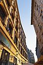 Germany, Leipzig, facades at Barfussgaesschen - GWF004688