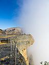 Oman, Jabal Akhdar Mountains, Wadi Nakhar at Jebel Shams, observation deck - AMF004877