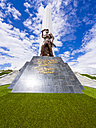 Namibia, Windhoek, Heroes' Acre, Heroes Memorial, struggle for independence, statue of soldier, obelisk - AM004886
