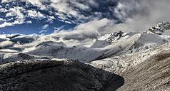 Nepal, Annapurna, Thorong La, panoramic view - ALRF000419