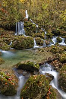 Austria, Styria, Pernegg an der Mur, Grazer Bergland, Baerenschuetzklamm, waterfall - GFF000575