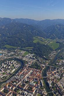 Austria, Styria, Leoben, Mur river, river loop - GF000578