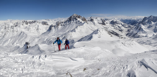 France, Isere, Les Deux Alps, Pic du Galibier, ski mountaineering - ALRF000445