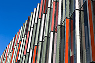 Germany, Frankfurt, Detail of modern facade - FC000938