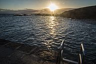 Spain, Tenerife, swimming area in the morning - SIPF000494