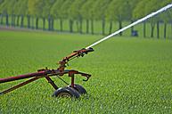 Sprinkler system on field - KLRF000316