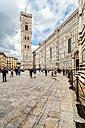 Italy, Tuscany, Florence, Basilica di Santa Maria del Fiore and Campanile di Giotto - CSTF001078