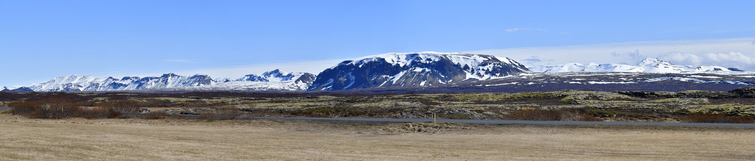 Iceland, South of Iceland, panoramic view. landscape - FDF000168