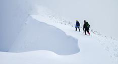 Scotland, Glencoe, Beinn a'Bheithir,  mountaineering in winter - ALRF000486