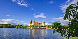 Germany, Saxony, Dresden, Moritzburg, view to Moritzburg Castle - WG000866