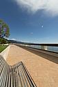 Monaco, Monte Carlo, Promenade and bench - VIF000482