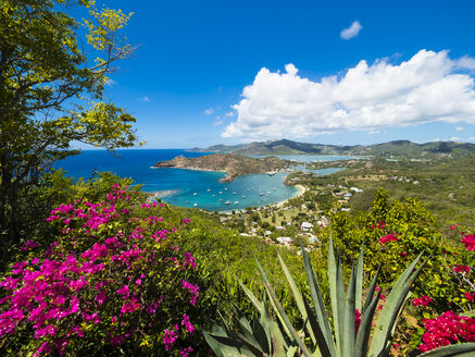 West Indies, Antigua and Barbuda, Antigua, English Harbour and Windward Bay - AMF004937