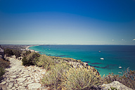 Spain, Formentera, Mediterranean Sea, View from Cami de Sa Pujada - CMF000460