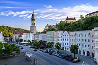 Germany, Bavaria, Burghausen, townscape - HAMF000205