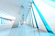3D rendered illustration, Architecture visualization of a futuristic interior - SPCF000081