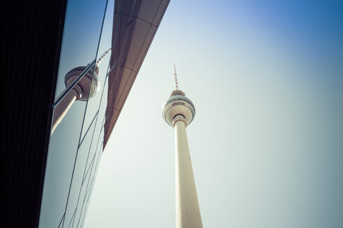 Germany, Berlin, television tower - CMF000463