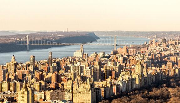 USA, New York, New York City, Manhattan, cityscape - JLRF000053