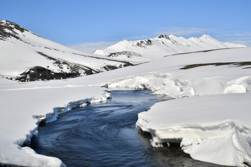Iceland, Northeast, glacier - FDF000181