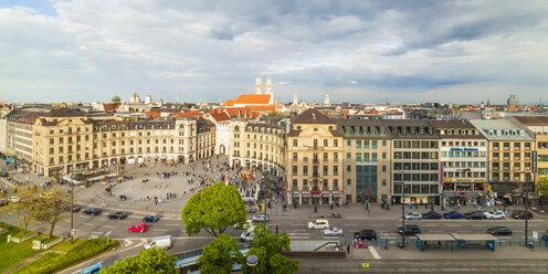Germany, Munich, view to Karlsplatz - WDF003650
