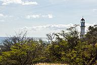 USA, Hawaii, Oahu, lighthouse and sea - NGF000348