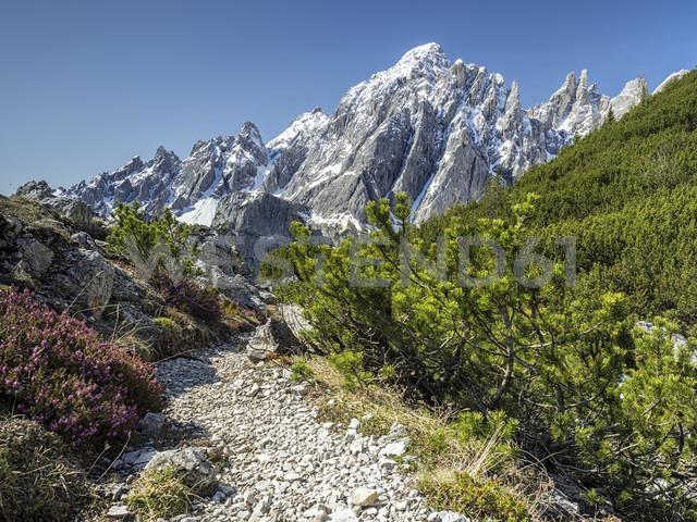Italy, Alto Adige, Sexten Dolomites, Hochpuster Valley, Nature park Tre Cime, Tre Cime di Lavaredo - STSF001035